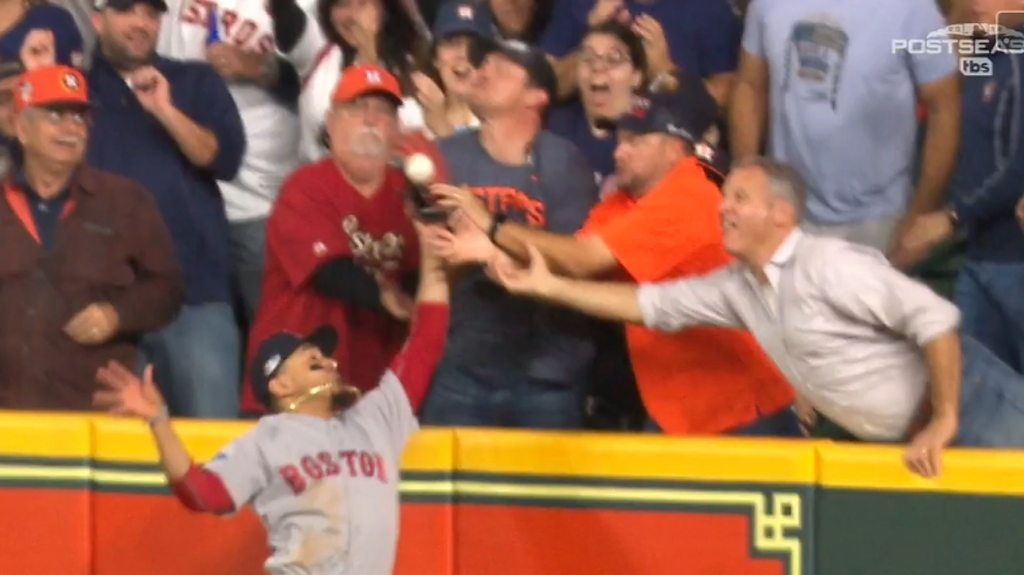 MLB: Houston Astros fan costs their team dearly after interfering with play
