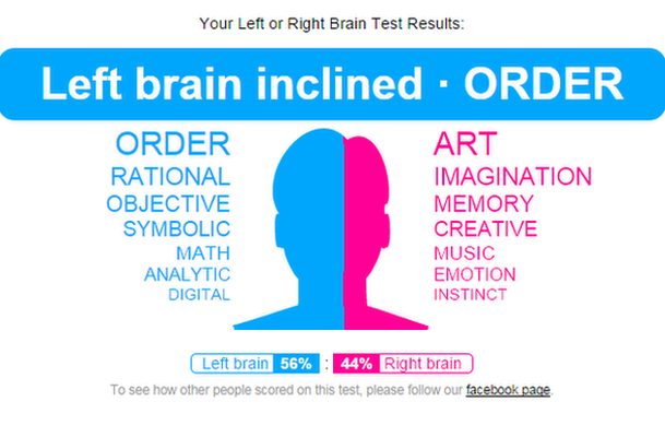 left and right brain test - photo #6