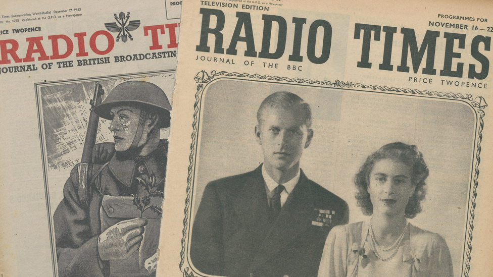 Radio Times front covers of the 1940s