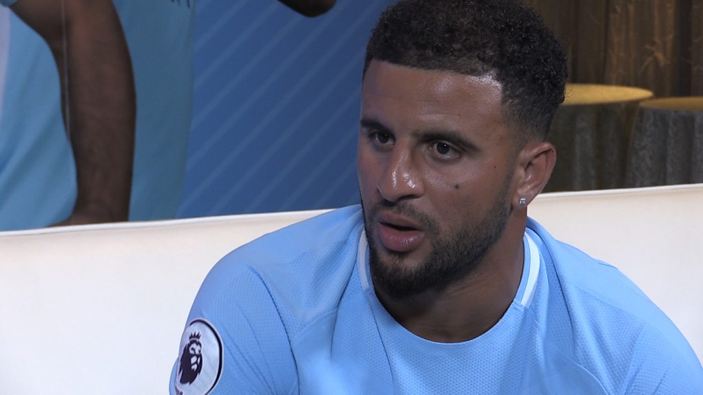 Kyle Walker: Working with Pep Guardiola at Man City a 'big attraction'