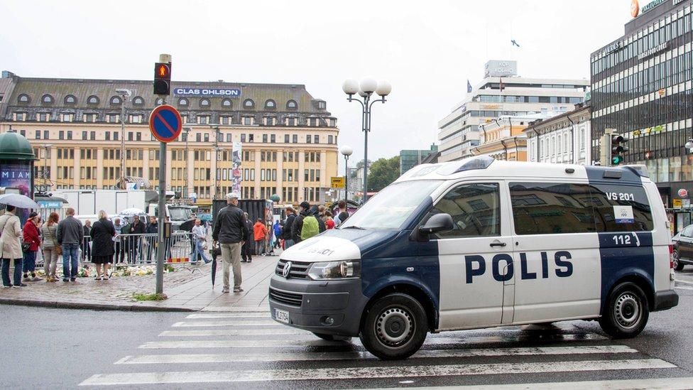 """فنلندا: حادثة الطعن في توركو """"هجوم إرهابي"""""""