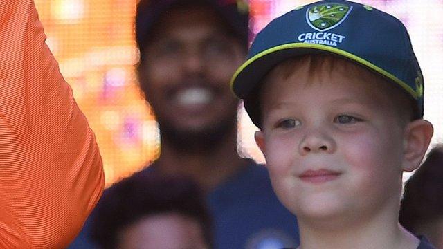 انڈیا کے خلاف باکسنگ ڈے ٹیسٹ میچ کی کپتانی سات سالہ بچہ کرے گا