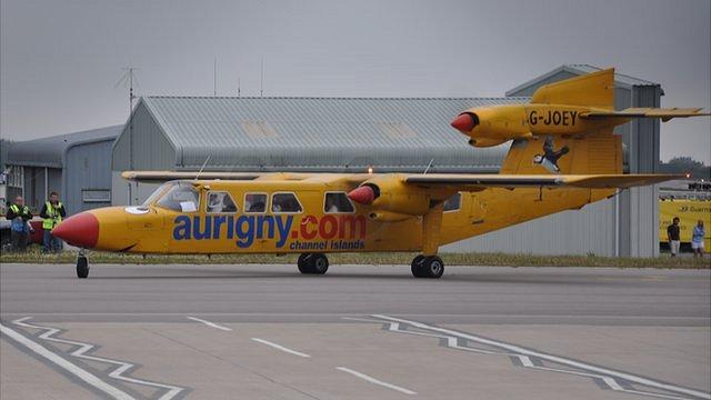 BBC News - G-Joey's last flight: Aurigny Trislander retirement 'end of ...