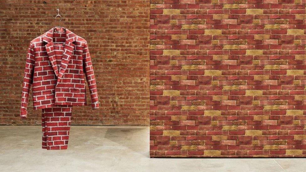 Turner Prize exhibition opens with giant buttocks, brick suit and a train