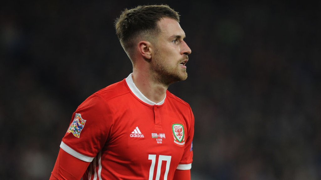 Euro 2020: Wales trio to miss Slovakia game, but Aaron Ramsey expected to play