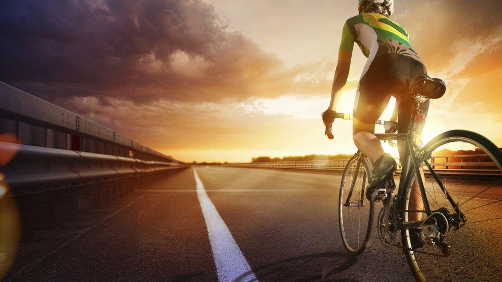 Persona en bicicleta
