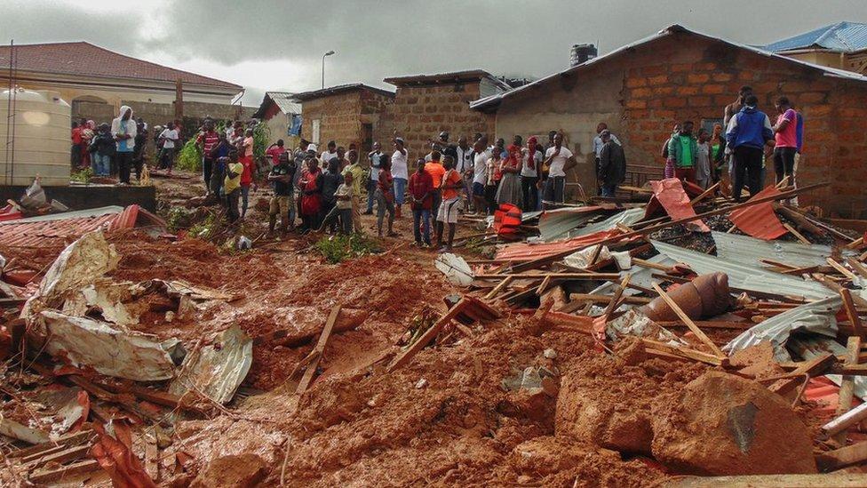 Sierra Leona sufre con frecuencia de inundaciones.