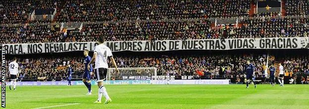 Valencia supporters