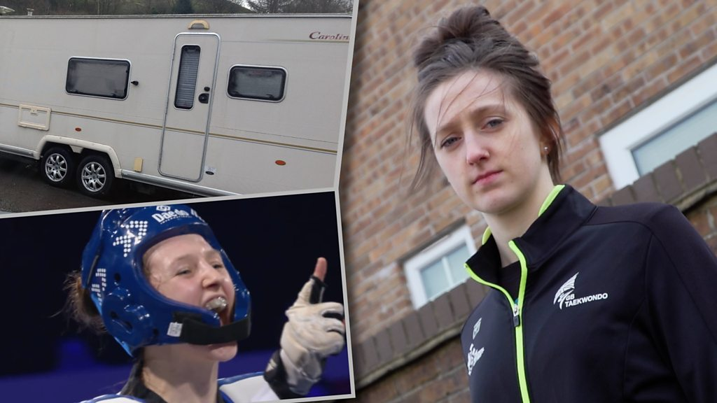 Lauren Williams: From kickboxing to taekwondo via a caravan