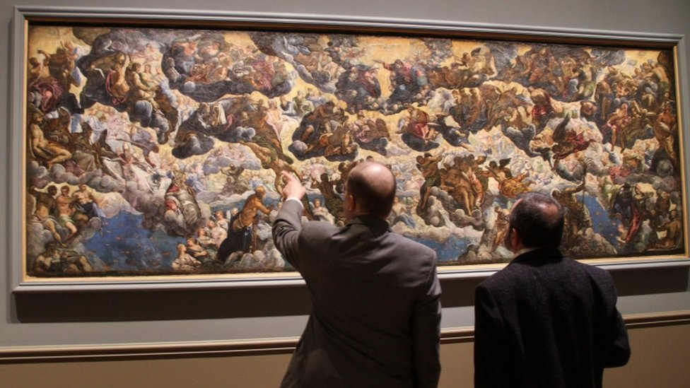 Tintoretto: A 'colossal' painter arrives in America after 500 years