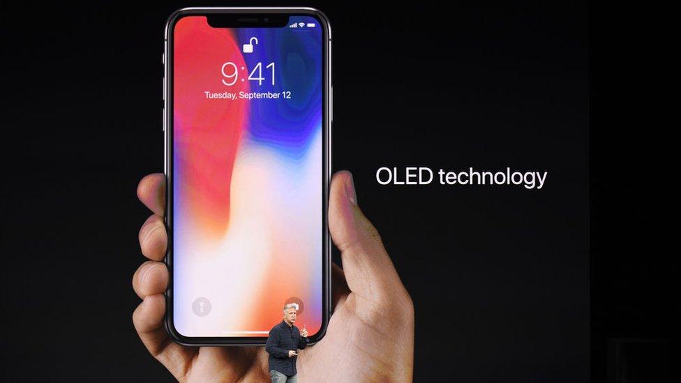 Las pantallas OLED no son nuevas y hay otros fabricantes de telefonía móvil que las usan.