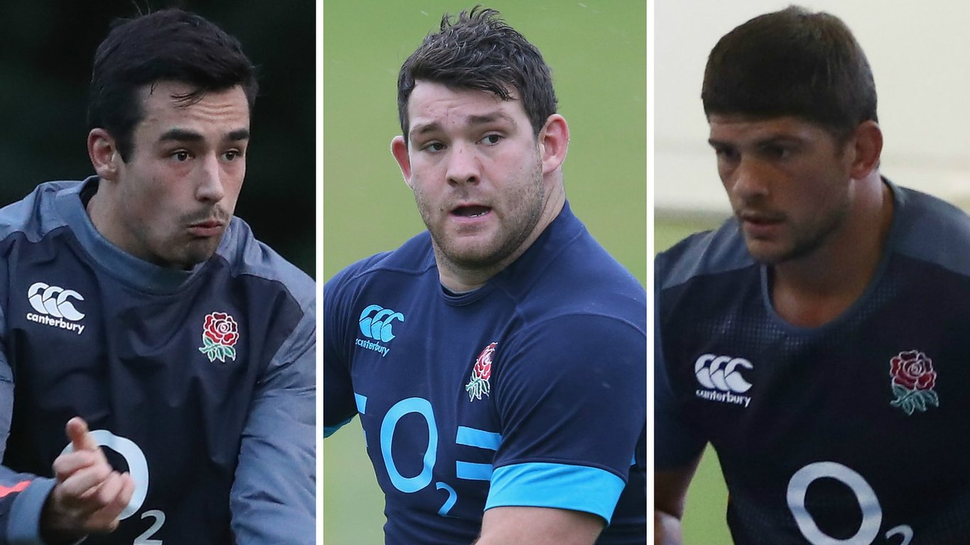 Uncapped trio named in England Six Nations squad