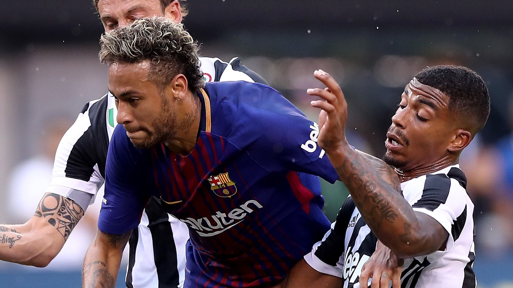We want Neymar to stay - Barca coach Valverde