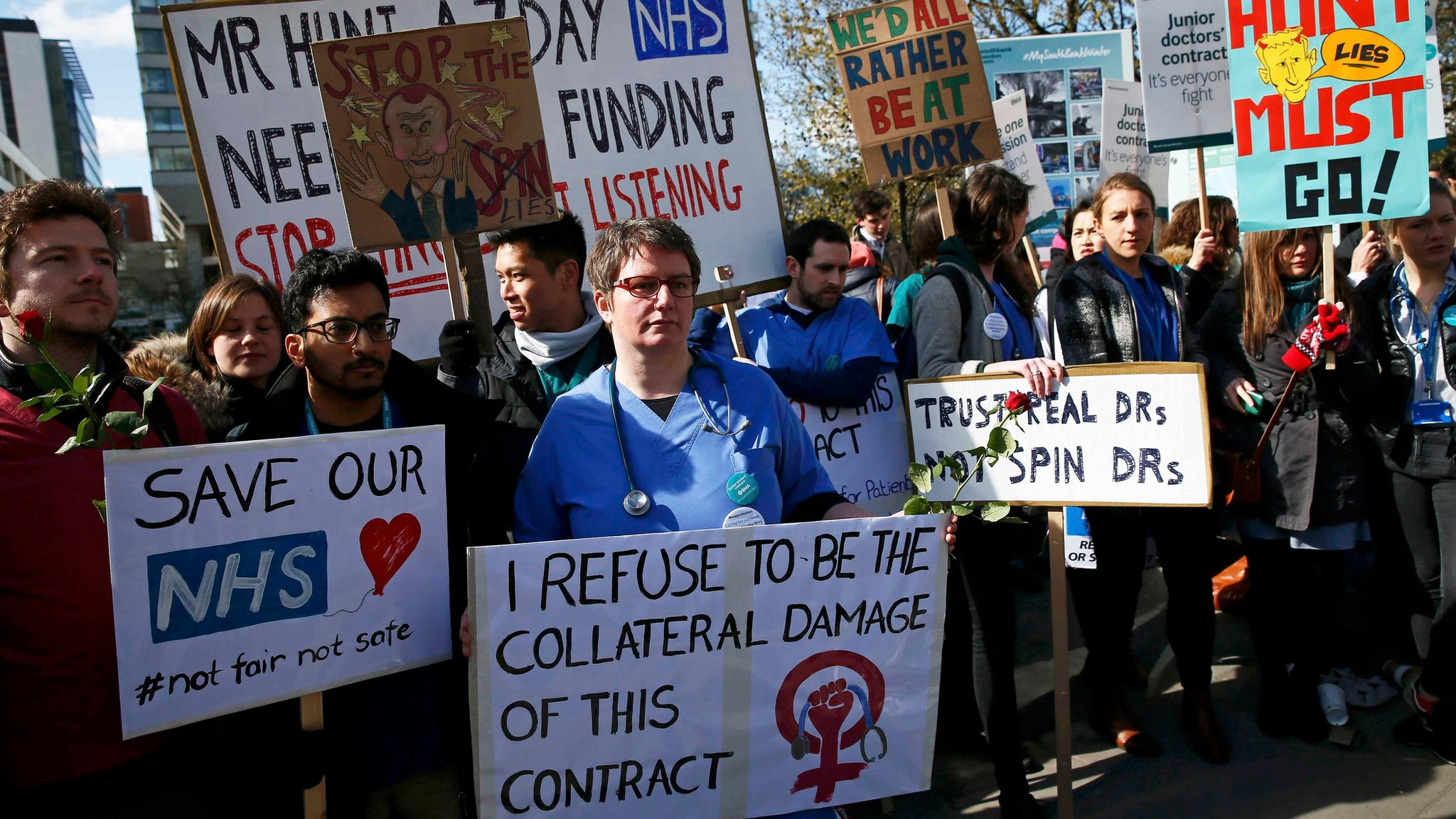 Junior doctors plan week of all-out strikes
