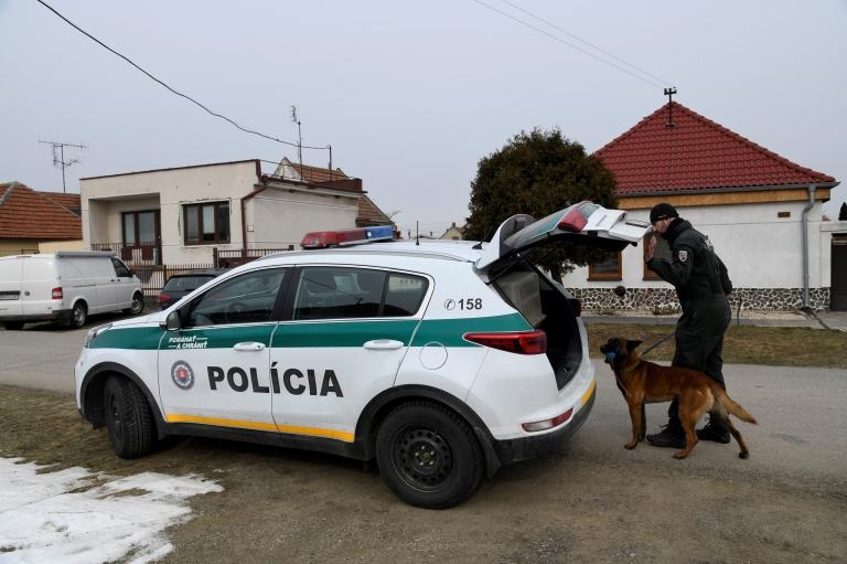 Policía en Eslovaquia