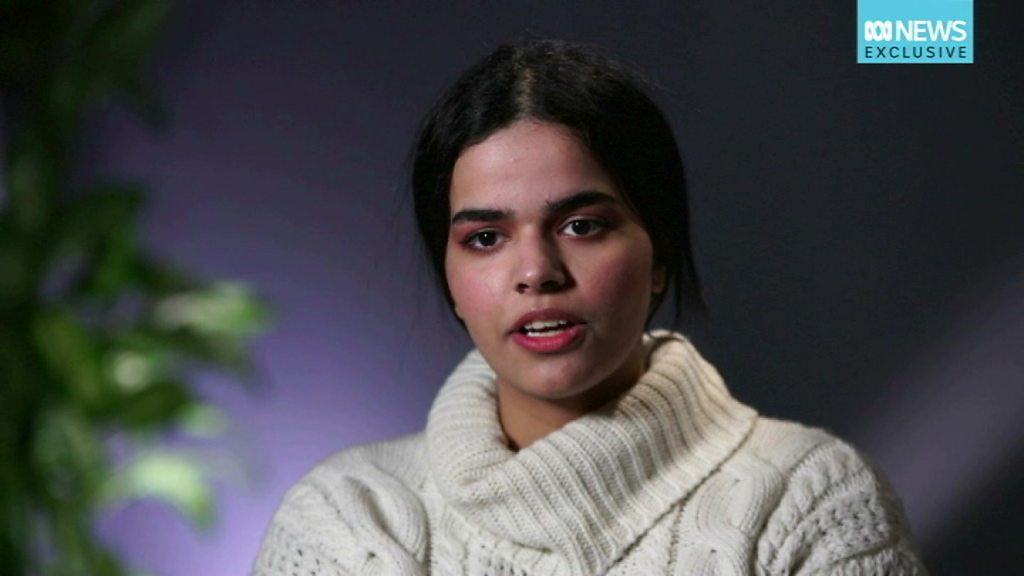 Rahaf Mohammed: 'I can't believe what has happened to me'