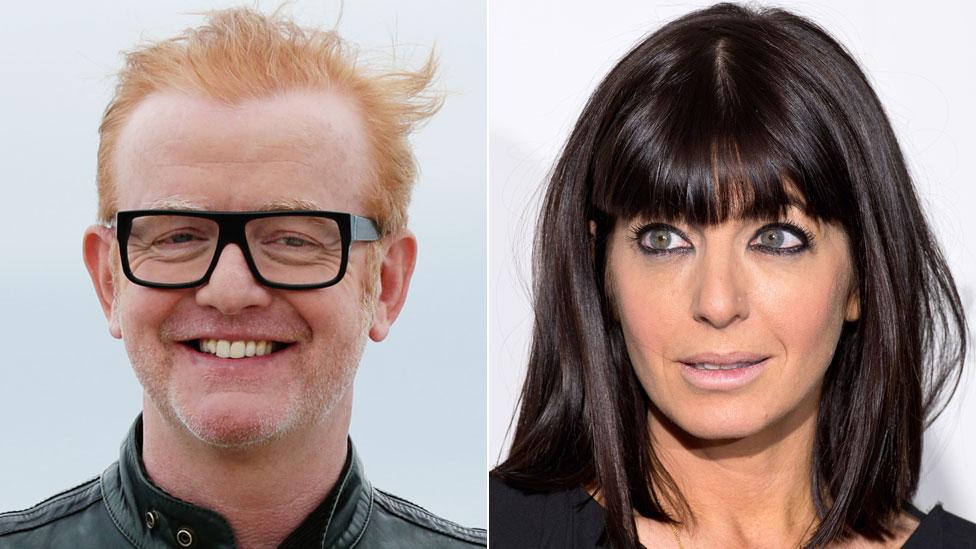 Chris Evans y Claudia Winkleman son el presentador y presentadora estrellas mejor pagadas en la BBC, pero la diferencia entre los dos es enorme.