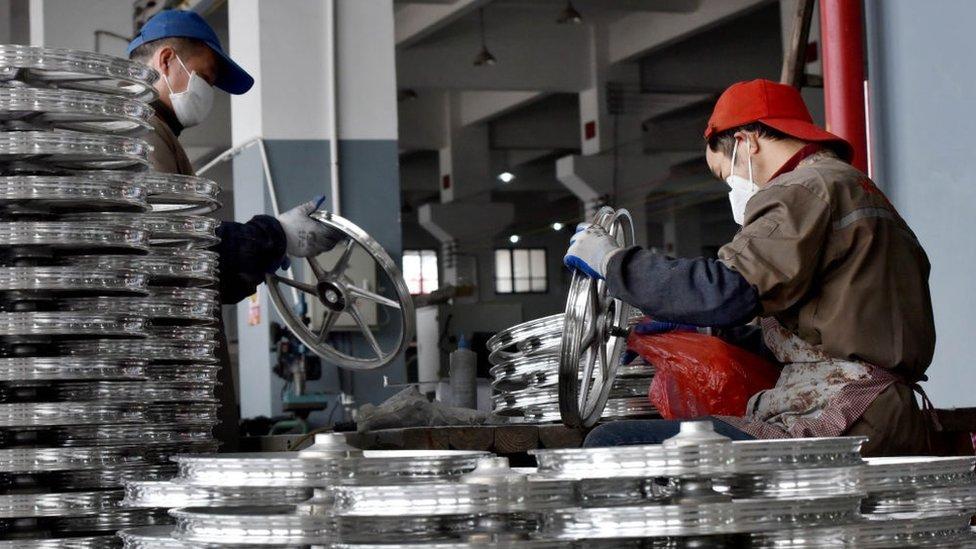 China reportó el mayor crecimiento de su economía en siete años.