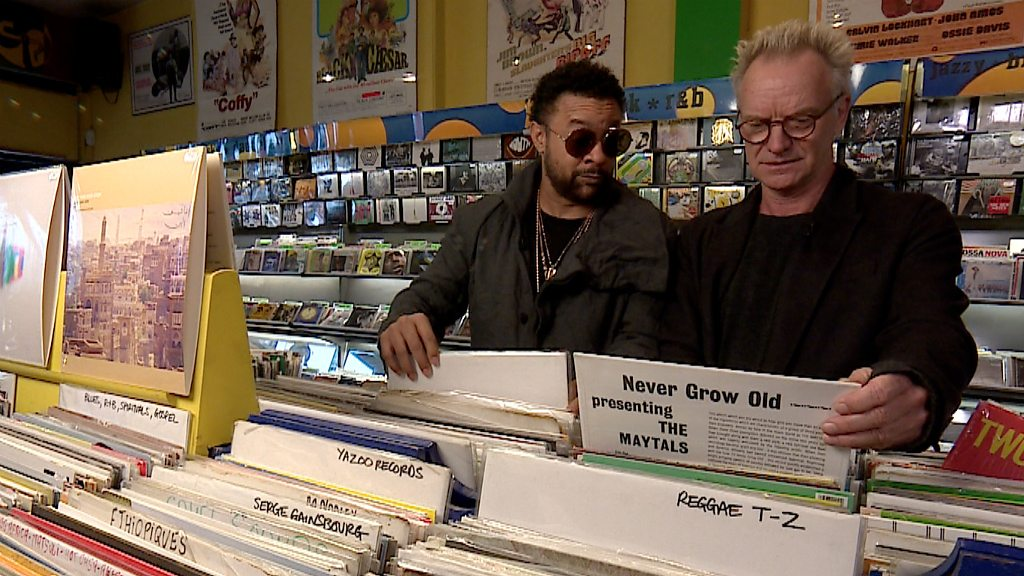Sting and Shaggy's favourite reggae records