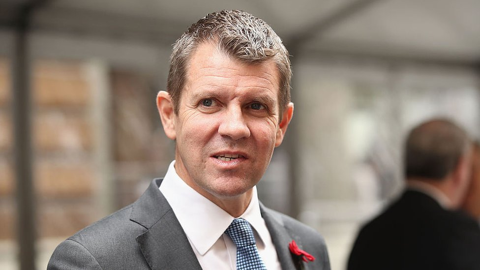 Image result for Mike Baird moves to NAB: Former NSW premier takes senior bank role