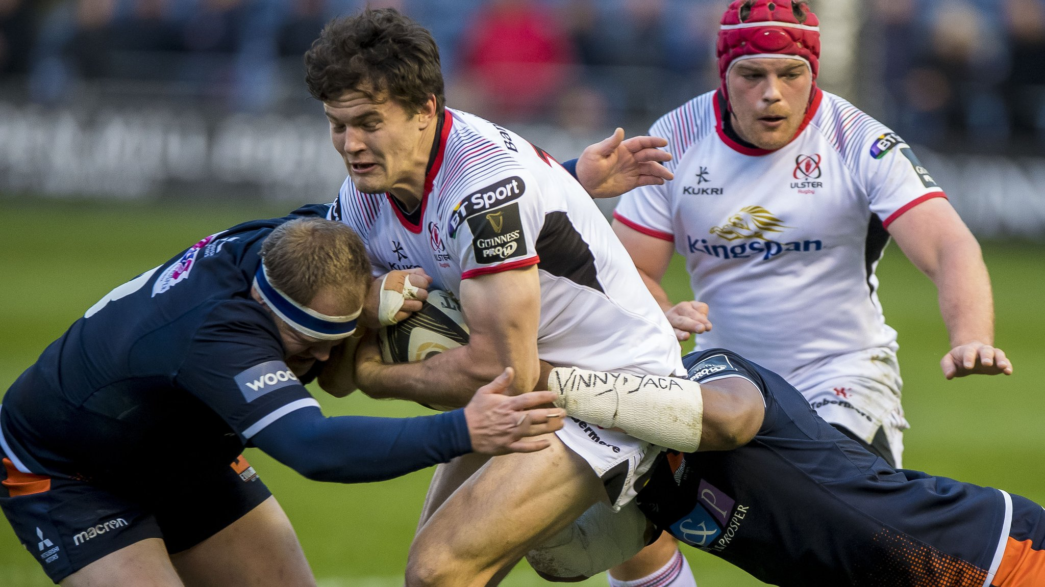 Pro14: Edinburgh 7-29 Ulster - visitors clinch Conference B play-off spot
