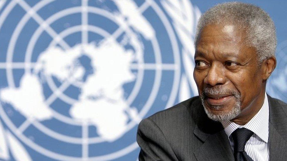 Kofi Annan, former UN chief, dies at 80   BBC