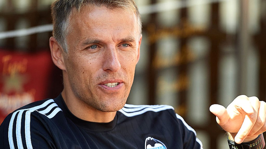 England women: Phil Neville on verge of manager role