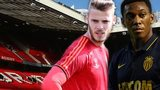 David De Gea and Anthony Martial