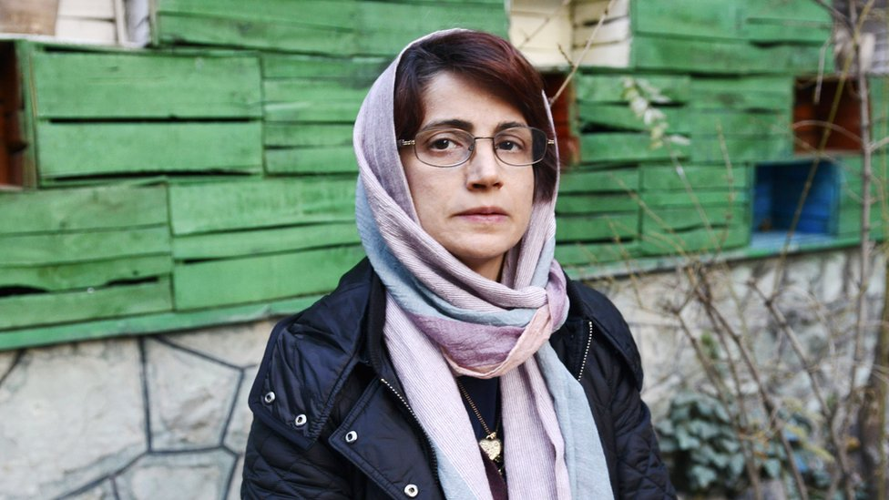 Nasrin Sotoudeh: Iran human rights lawyer jailed for 38 years, say family
