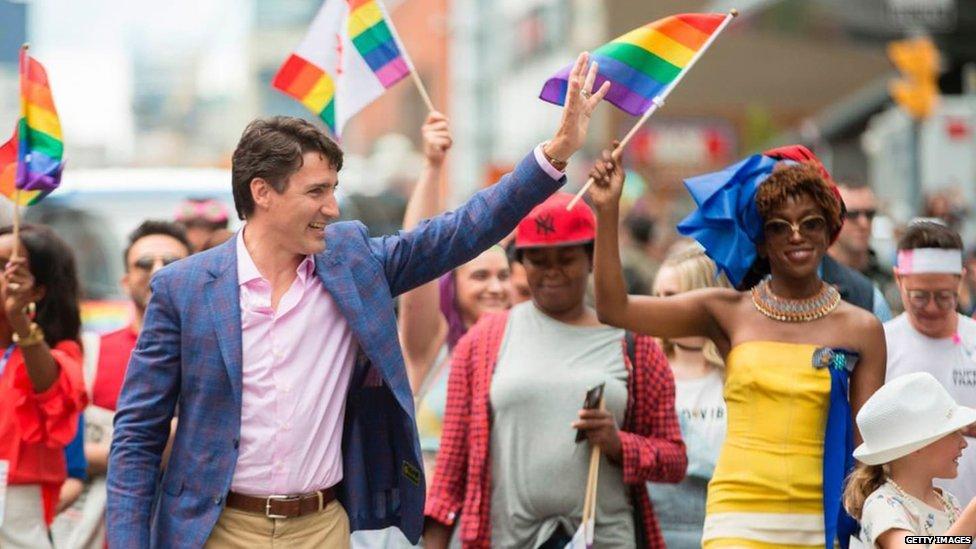 Canada army recruiters at transgender job fair 'racism'