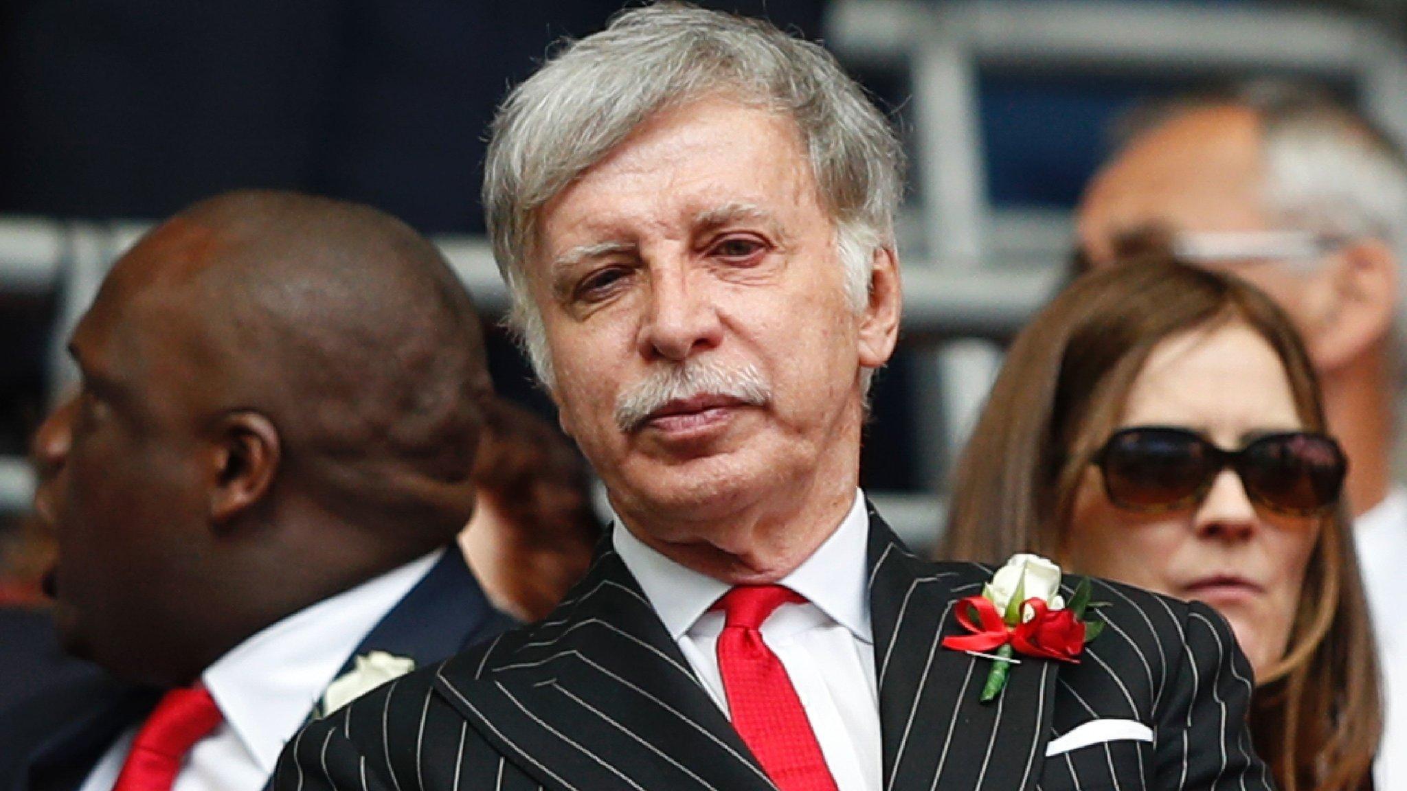 Kroenke offers to buy Arsenal in full in deal valuing club at £1.8bn