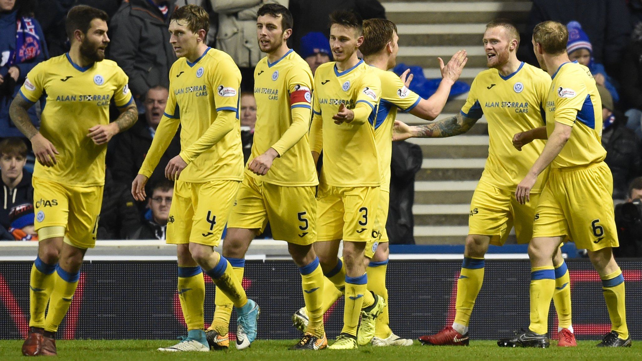 St Johnstone end 46-year wait for league win at Ibrox