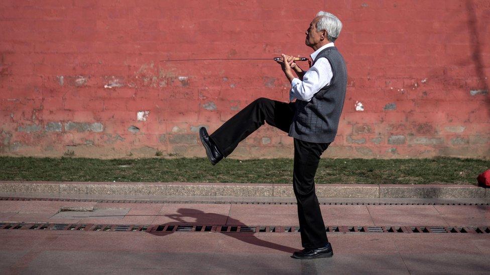 Algunas naciones asiáticas tienen el mayor porcentaje de ancianos.