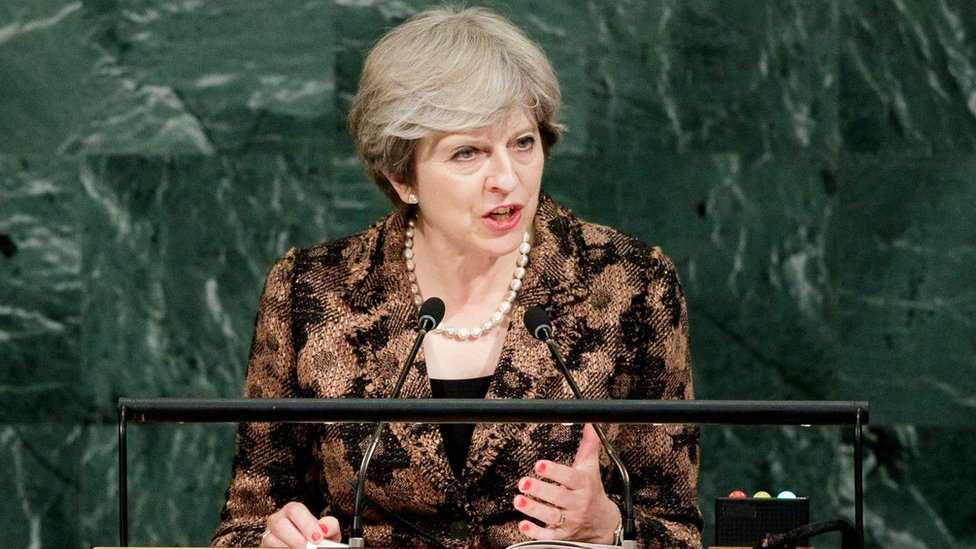 Theresa May warns tech firms over terror content