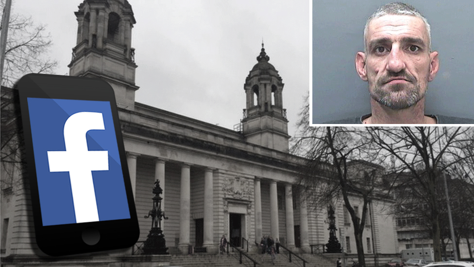David Davies jailed for live-streaming Cardiff court case
