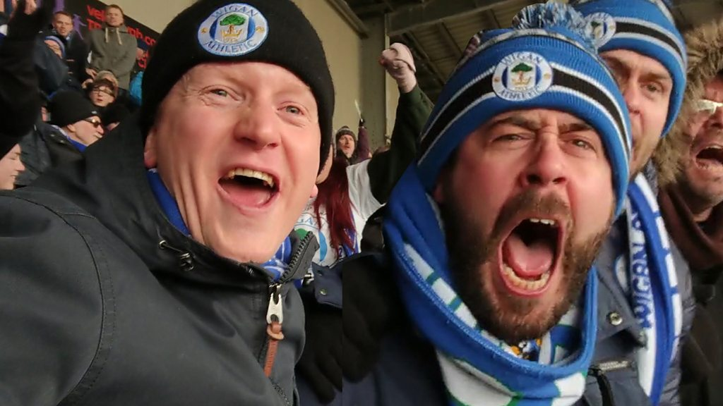 FA Cup Stories: How Wigan fans watched quarter-final with Southampton