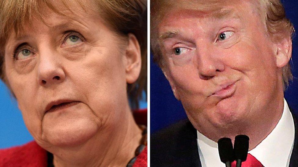 Almanya ile Trump arasında göçmen ve BMW tartışması
