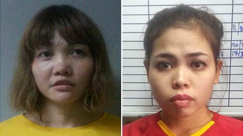 段氏香(左)和艾希亞(右)