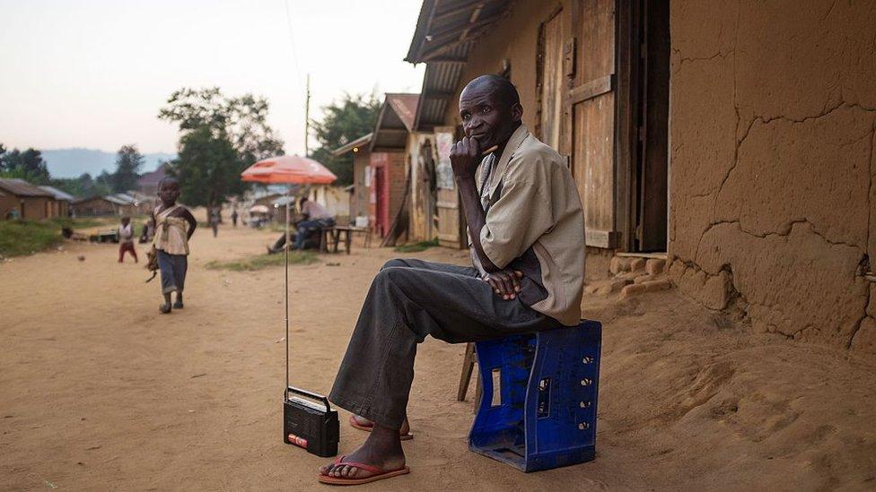 El Servicio Mundial de la BBC es tremendamente popular en África.