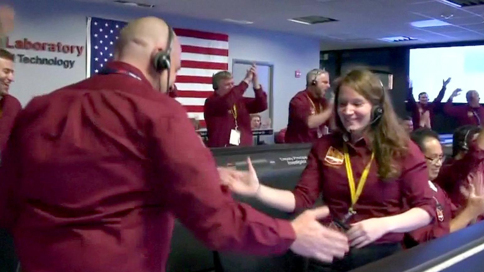 bbc news mars insight landing - photo #12