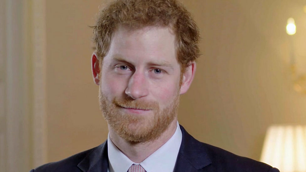 Prince Harry praises teacher 'compassion'