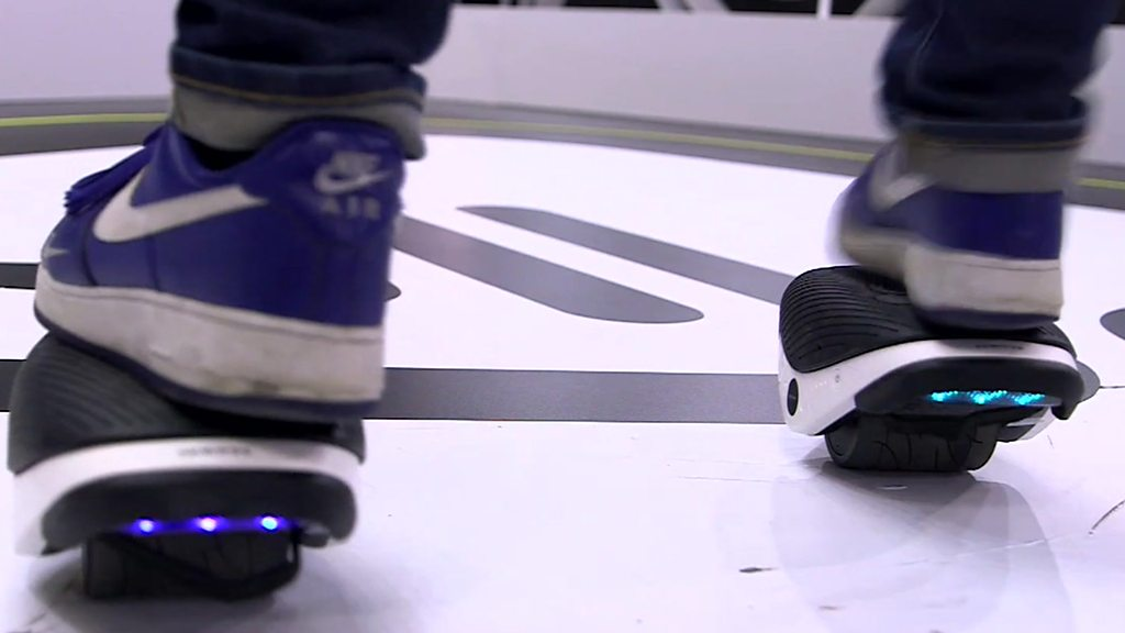 Falling off Segway's self-balancing skates