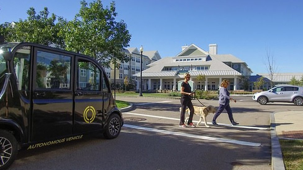 Autonomous shuttle to be tested in New York City