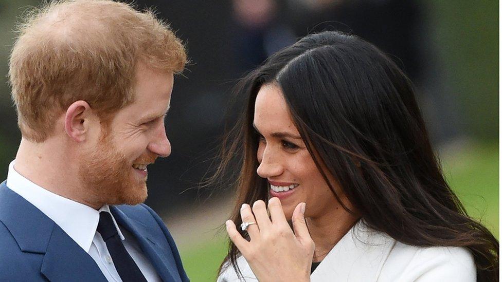 الأمير هاري وخطيبته ميغان