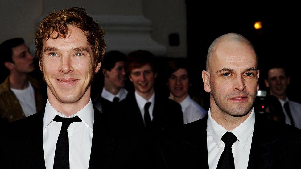 Benedict Cumberbatch y Jonny Lee Miller