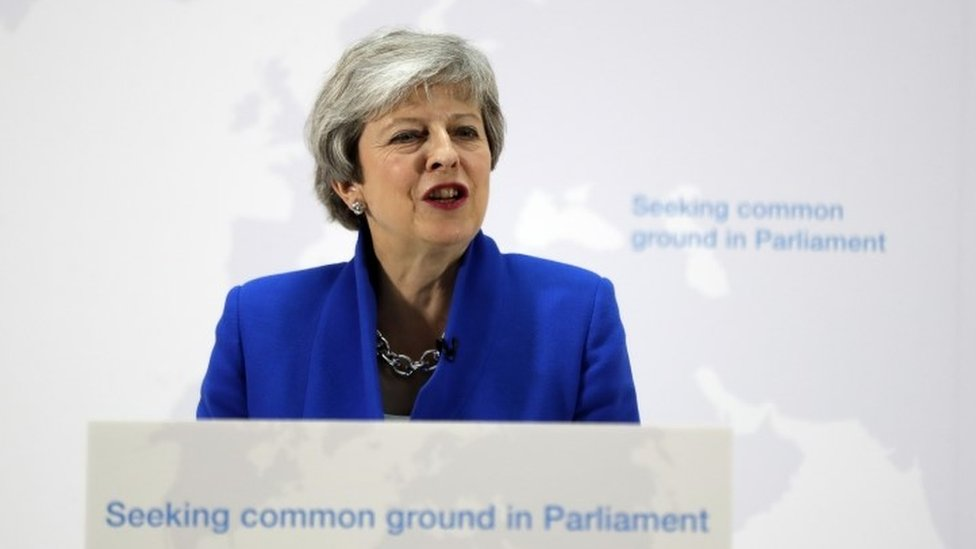 Brexit: PM says MPs have 'one last chance' to back her deal