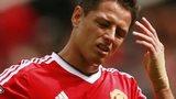 Manchester United forward Javier Hernandez