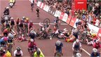 VIDEO: Guarischi wins after massive crash