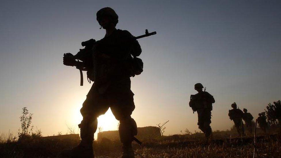 Trump rules out Afghan troops withdrawal