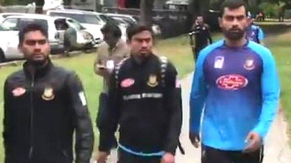 #Christchurch मस्जिद पर हमले में बाल-बाल बचे बांग्लादेशी क्रिकेटर बस में रो रहे थे